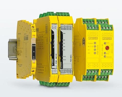 带手动操作锁定功能的继电器